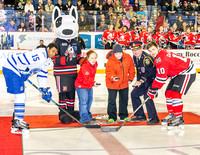 Special Olympics and Niagara Ice Dogs